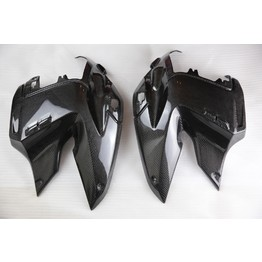 TAPAS LATERALES EN CARBONO BMW R1200GS  2008 - 2012